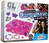 Carry case - versier je eigen beauty koffer en maak sieraden!
