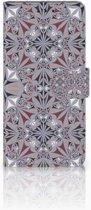 Huawei Mate 20 Pro Boekhoesje Design Flower Tiles