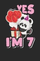 Yes I'm 7
