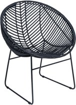 PTMD fauteuil Rotan Rond 80 x 70 x 67