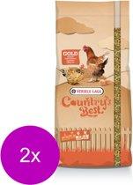 Versele-Laga Country`s Best Gold 4 Mix Kip-Graan Met Legkorrel - Kippenvoer - 2 x 20 kg Standaard