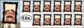 12x Bril met fotoframe