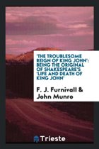 'the Troublesome Reign of King John'