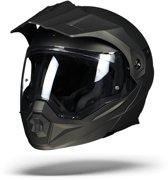 Scorpion ADX-1 Grijs Systeemhelm - Motorhelm - Maat XL