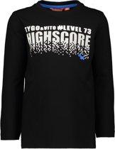 TYGO & vito Jongens T-shirt - zwart - Maat 92