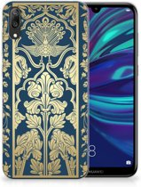 Huawei Y7 Pro (2019) TPU Case Golden Flowers