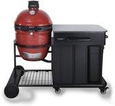 Kamado Joe Classic II Houtskoolbarbecue met Modulair Onderstel