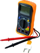 PROFILE digitale multimeter - max 10A - max 600V - CAT II