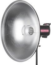 Beauty Dish Reflector  - 70cm / Zilver