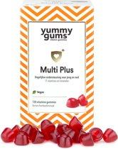 Yummygums - vegan multivitamine - B12, D3 & Omega3 - 120 gummies - ook voor kinderen