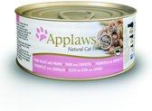 Applaws cat blik adult tuna / prawn kattenvoer 70 gr