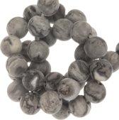 Oorhaakjes (10 x 17 mm) Antiek Zilver (10 Stuks)