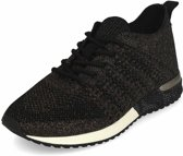 LaStrada knitted sneakers dames brons