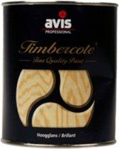 Avis Timbercote Hoogglans Blanke Lak - 500 ml