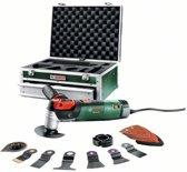 Bosch PMF 250 CES Multitool Oscillerend 250 Watt Snel wissel systeem voor accessoires Inclusief toebehoren en stevige aluminium koffer