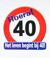 Vlaggetjes 40 Jaar