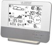 La Crosse Compleet weerstation met thermo-hygro-, wind- en regensensor.