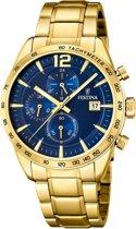 Festina F20266/2 Chronograaf - Horloge - Staal - Goudkleurig - 43,5mm