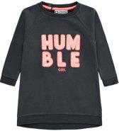 Tumble 'n Dry Meisjes Jurk Teressa - graphite grey - Maat 92