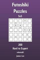 Futoshiki Puzzles - 200 Hard to Expert 5x5 Vol. 2