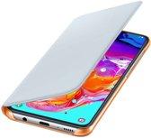Samsung Galaxy A70 Originele Wallet Cover Wit