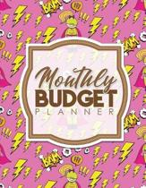 Monthly Budget Planner: Balanced Budget, Finance Tracker Book, Bills Due Book, Monthly Bill Paying Organizer