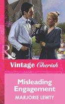 Misleading Engagement (Mills & Boon Vintage Cherish)