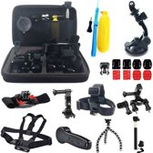24-In-1 GoPro Hero 4 / 3+ / 3 / 2 / 1 accessories kit met hoes / case