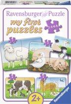 Ravensburger Boerderij dieren- My First puzzels -2+4+6+8 stukjes - kinderpuzzel