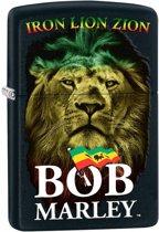 Aansteker Zippo Bob Marley Iron Lion Zion