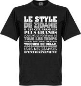 Le Style De Zidane T-shirt - XXXL