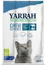Yarrah Bio Kauwsticks - Rund & Vis - Kattensnack  - 15 g