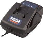FERM CDA1080S Acculader 2A - Oplader 60 minuten - Voor CDM1113S en CDM1114S