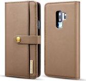 Samsung Galaxy S9 Plus 2-in-1 Bookcase en Back Cover Hoesje Bruin