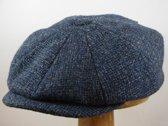 Stetson Hatteras ruige tweed blauw maat 56