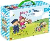 Fien & Teun - Kinderpuzzel - 4 in 1