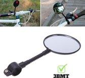 Fietsspiegel   achteruitkijkspiegel voor fietsen   universeel formaat met reflectie