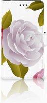 Motorola Moto Z2 Force Uniek Boekhoesje Roses