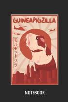 Guinea Pig Guineapigzilla Notebook