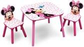 Disney Minnie Mouse TT89436MN Tafel met 2 Stoelen