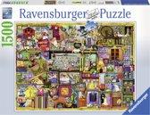 Ravensburger puzzel Colin Thompson-Hobbykast - Legpuzzel - 1500 stukjes