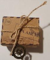 Cadeau-Traktatiedoosje - Set 50 stuks - 6 x 4.5 x 3.5 cm