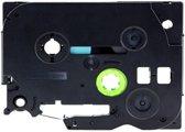 5x Compatible voor Brother  Tze-241 Compatible voor Brother  P-touch Label Tapes - Zwart op Wit -  18mm