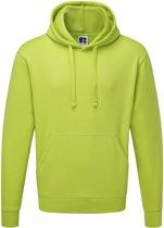 Russell Authentic Hoodie voor Heren Lime XXL