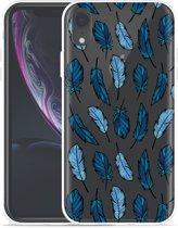 Apple iPhone Xr Hoesje Feathers