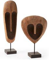 LaForma Set houten maskers Indraia