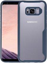 Focus Transparant Hard Cases voor Samsung Galaxy S8 Navy