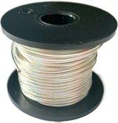 Verzilverd Koper draad 1mm dikte voor het maken van sieraden - 50 gram (7 Meter)