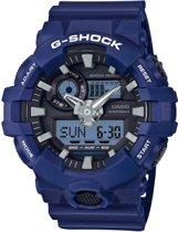 Casio G-SHOCK GA-700-2AER Horloge - Resin - Blauw - 53 mm
