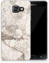 Samsung Galaxy A3 2016 TPU Hoesje Design Marmer Beige